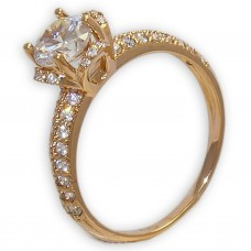 """Золотое кольцо """"Лотос"""""""