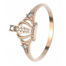 """Золотое кольцо """"Корона"""""""