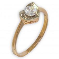 Золотое  помолвочное  кольцо 1/1319