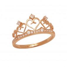 Золотое кольцо Корона 1/1005