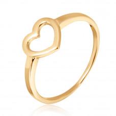 Золотое кольцо Сердце1/1020