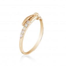 """Золотое кольцо """"Гвоздь"""" 1/1022"""