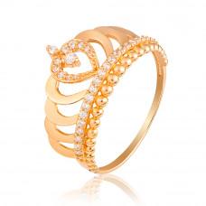 """золотое кольцо """"корона"""" 1/1047"""