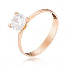 Золотое  помолвочное кольцо 1/1051