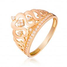 """золотое кольцо """"корона"""" 1/1060"""