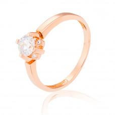 Золотое  помолвочное  кольцо 1/1054