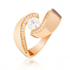Золотое  помолвочное кольцо 1/1085