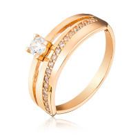 Золотое  помолвочное кольцо 1/1112