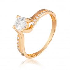 Золотое  помолвочное кольце 1/1115