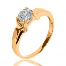 Золотое кольцо для помолвки 1/1130