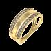 Тройное золотое кольцо 1/1135