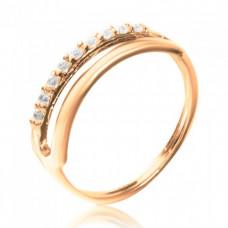 Двойное золотое кольцо 1/1203