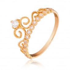 """золотое кольцо """"корона"""" 1/1426"""