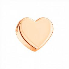 Золотой подвес(кулон) сердце 3/1018