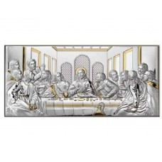 Икона Тайная Вечеря с позолотой