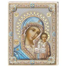 Цветная Икона Божья Матерь Казанская