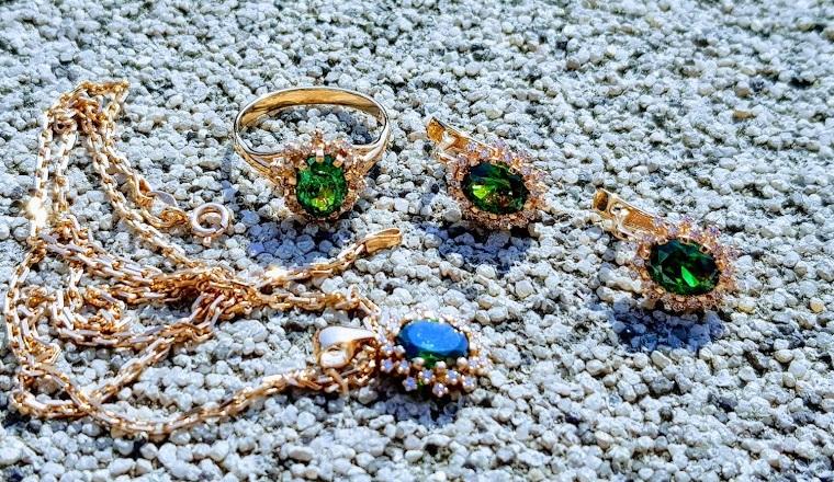 Золотые серьги, кольца и подвески по оптовым ценам