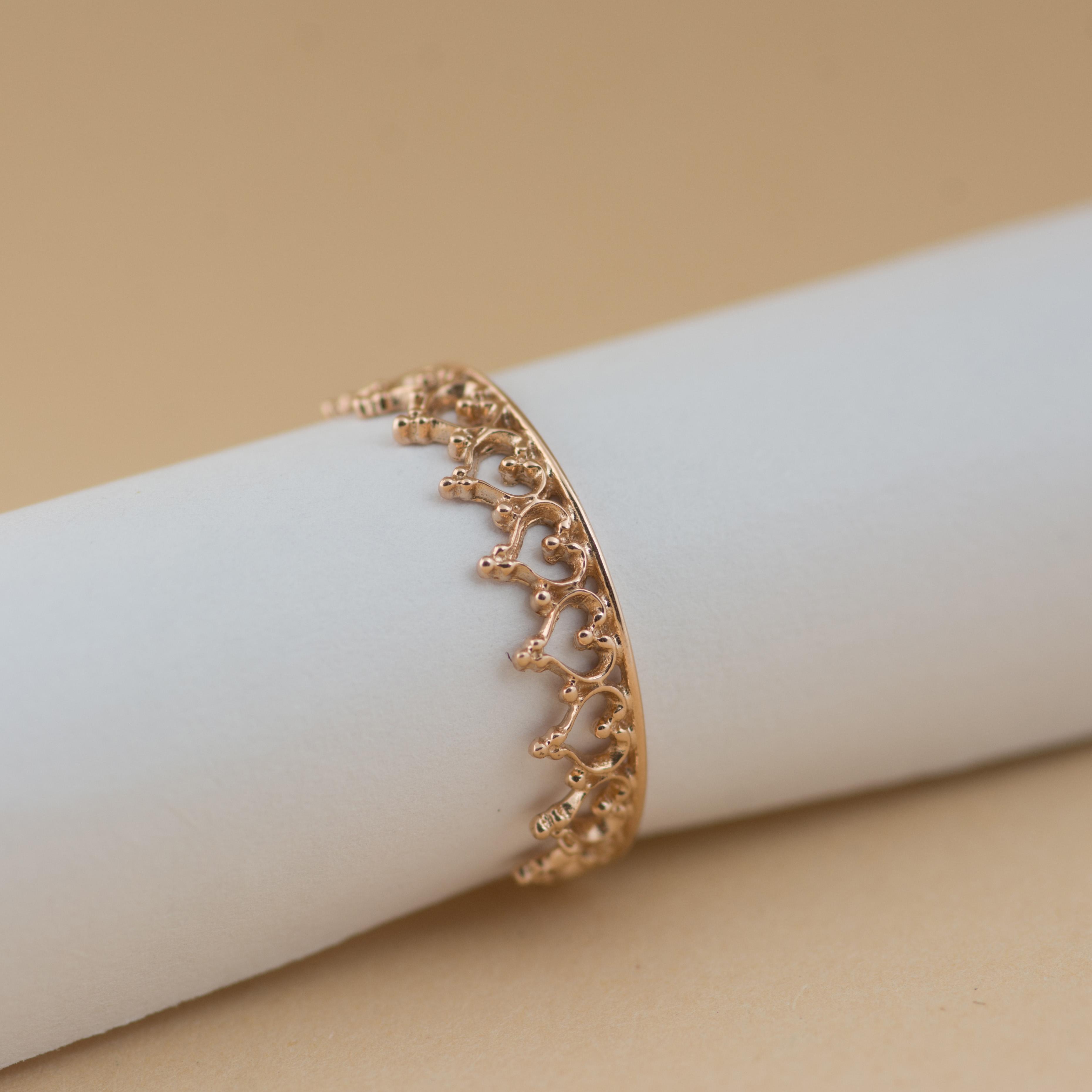 Кольцо золотое Корона купить