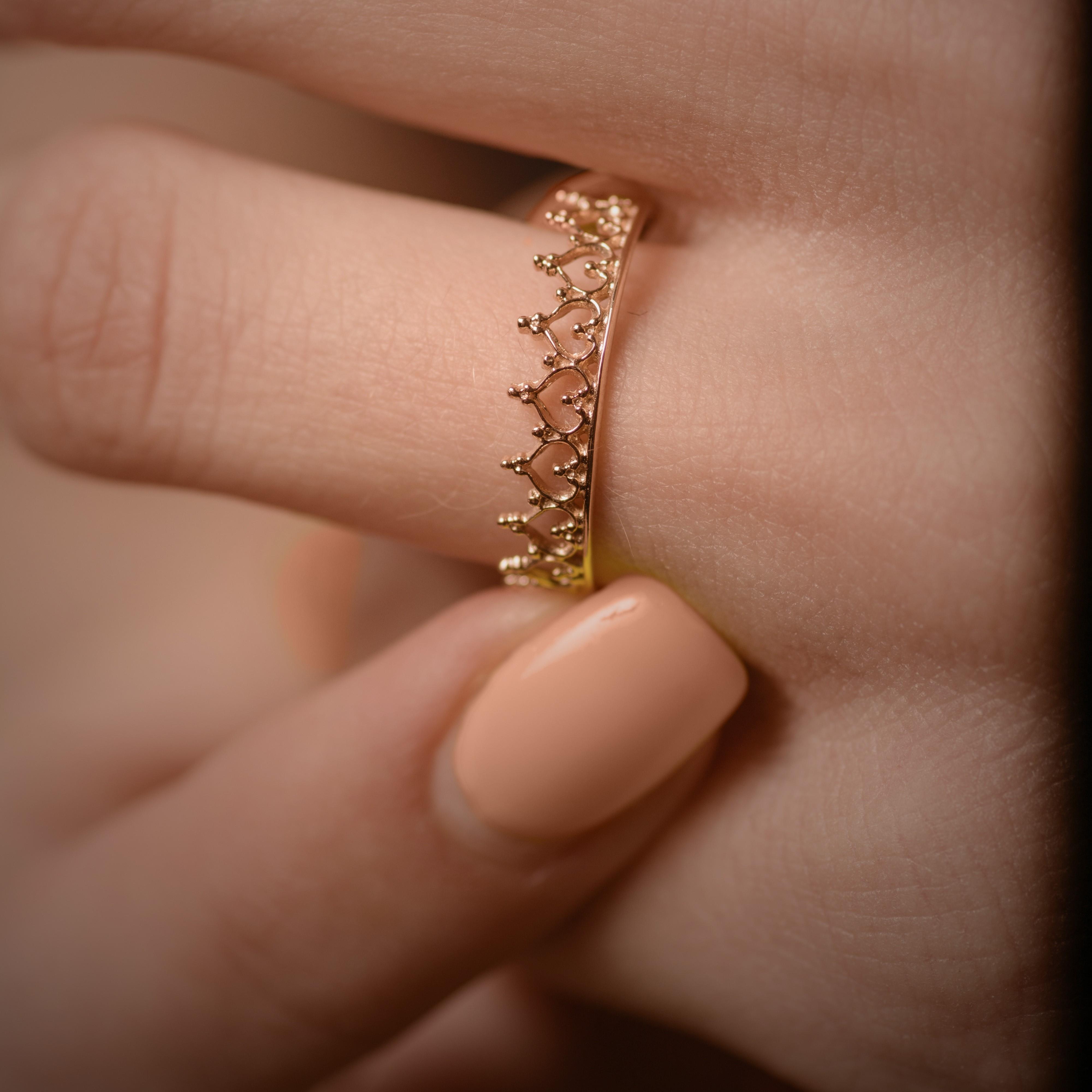 Оптовые цены на золотое кольцо Корона