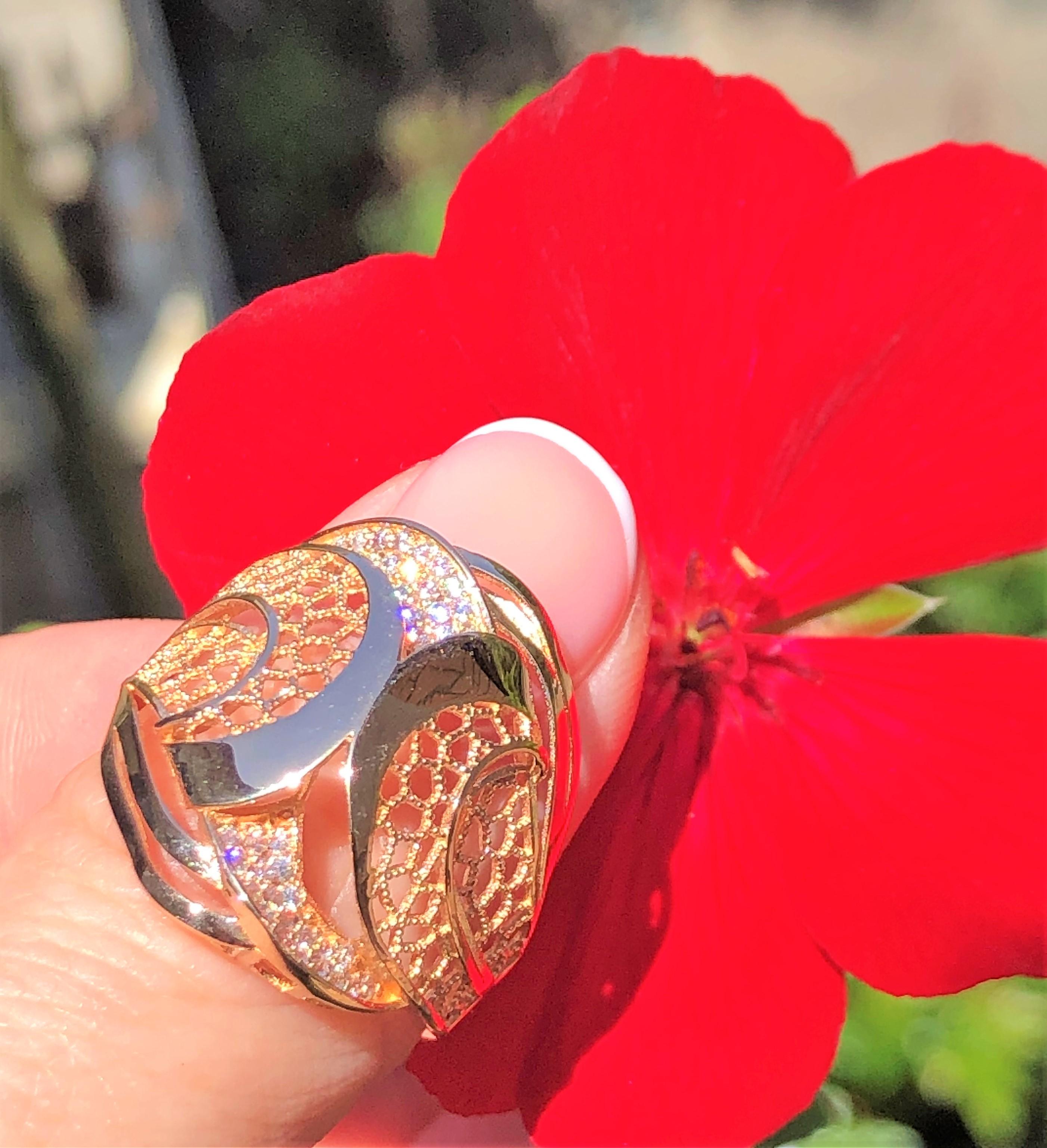 Золотое кольцо по оптовым ценам производителя Киевголд