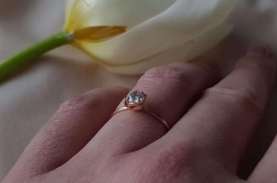Золотое кольцо по цене производителя Киевголд