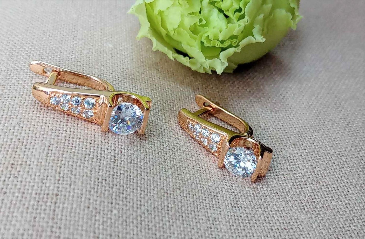 Золотые серьги Киевголд по оптовым ценам
